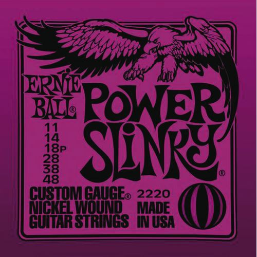 Ernie Ball 2220 11 48 Power Slinky Nickel