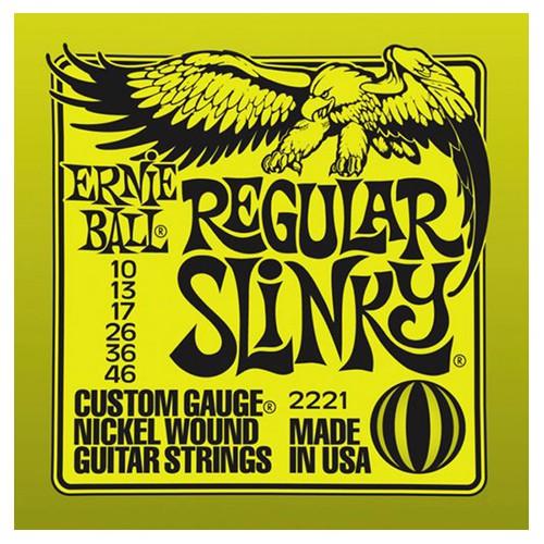 Ernie Ball 2221 10 46 Regular Slinky Nickel