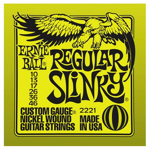 Ernie Ball 2221 10 46 Regular Slinky Nickel