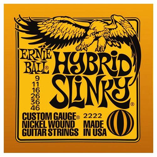 Ernie Ball 2222 9 46 Hybrid Slinky Nickel