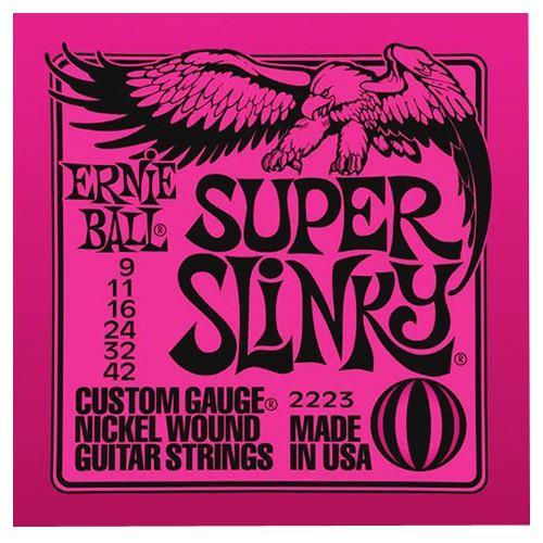 Ernie Ball 2223 9 42 Super Slinky Nickel