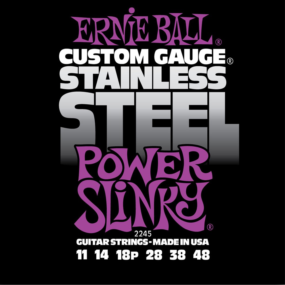 Ernie Ball 2245 11 48 Power Slinky Stainless