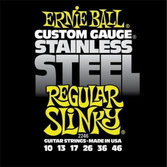 Ernie Ball 2246 10 46 Regular Slinky Stainless