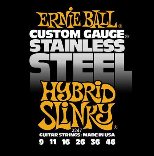 Ernie Ball 2247 9 46 Hybrid Slinky Stainless