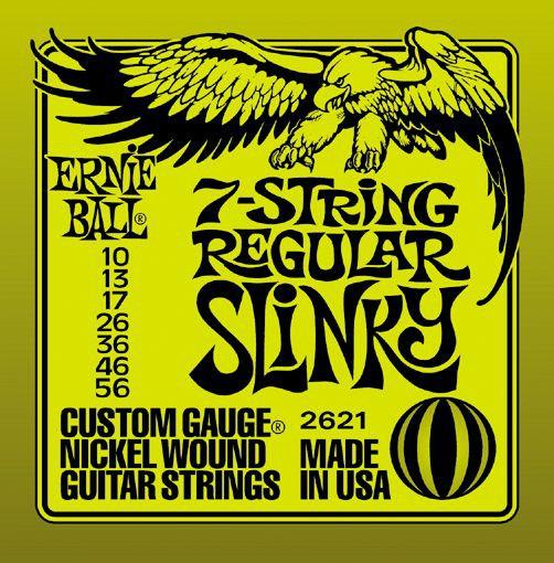 Ernie Ball 2621 10 56 7 String Regular Slinky
