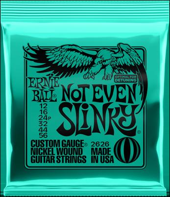 Ernie Ball 2626 12 56 Not Even Slinky Nickel