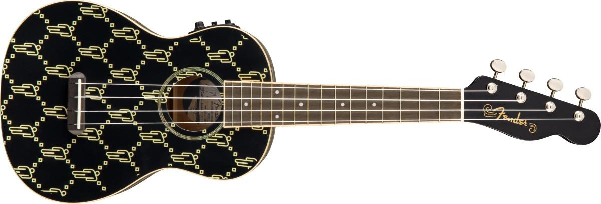 Fender Billie Eilish Concert Uke Blk