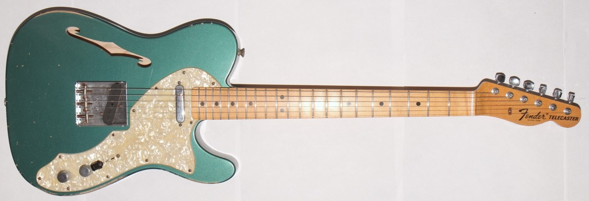 Fender Custom Shop  68 Telecaster Relic TL SWG