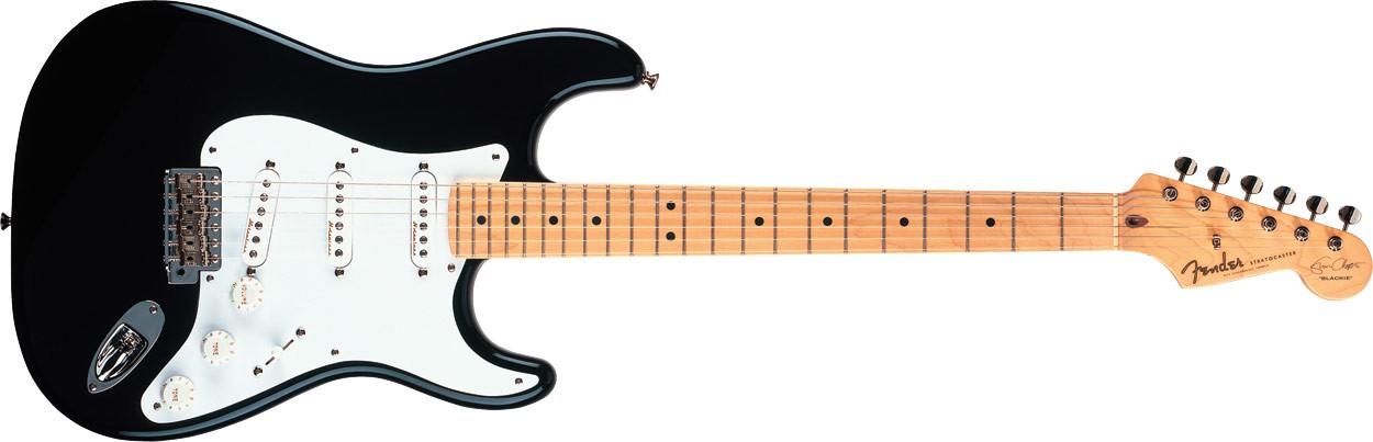 Fender Eric Clapton Stratocaster Black MN