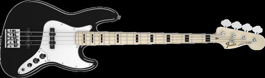 Fender Geddy Lee Jazz Bass Black MN