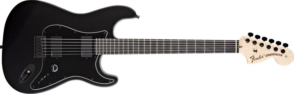 Fender Jim Root Stratocaster Flat Black Ebony FB