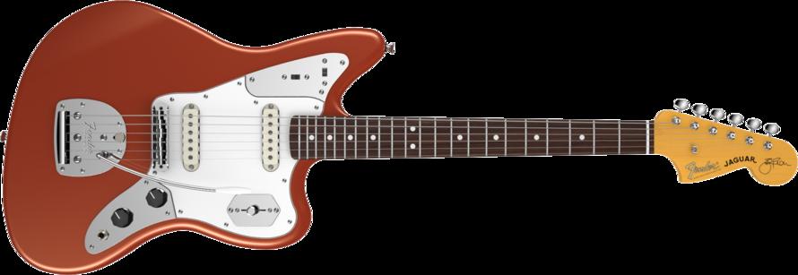 Fender Johnny Marr Jaguar Metallic KO RW