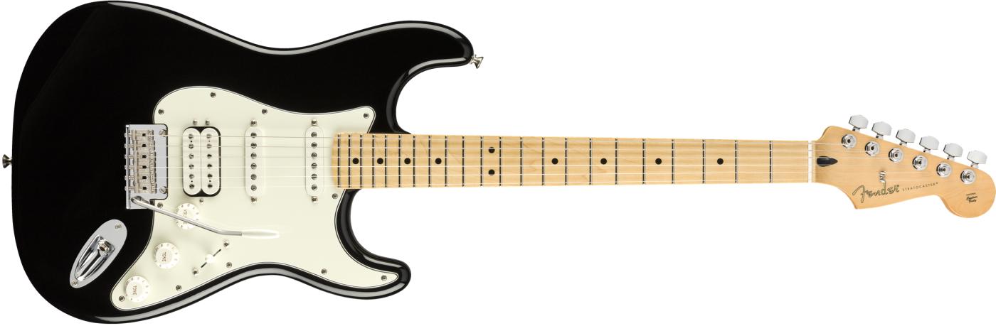 Fender Player Stratocaster HSS MN Black