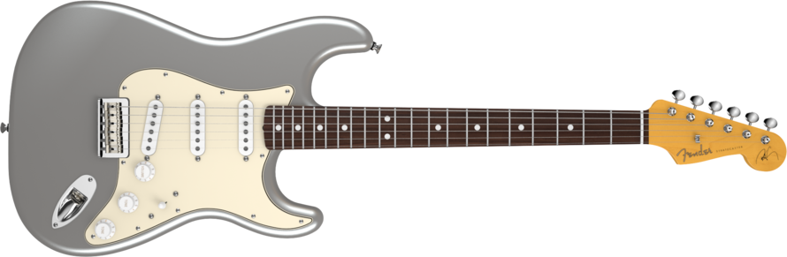 Fender Robert Cray Stratocaster Inca Silver RW