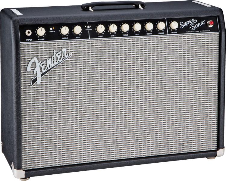 Fender Super Sonic 22 Combo Black