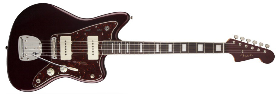 Fender Troy Van Leeuwen Jazzmaster Oxblood RW