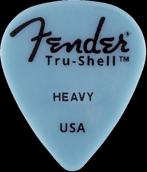 Fender      s Tru Shell Picks   351 Shape Heavy