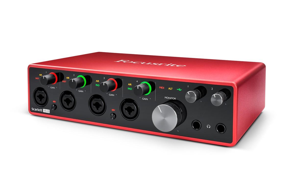 Focusrite Scarlett 18i8 3rd Gen  USB C
