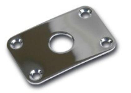 Gibson Jack Plate Explorer Chrome