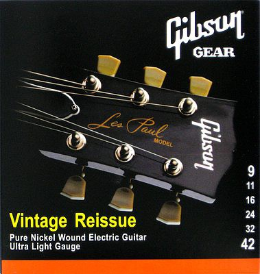 Gibson Vintage Reissue Strings 09 42