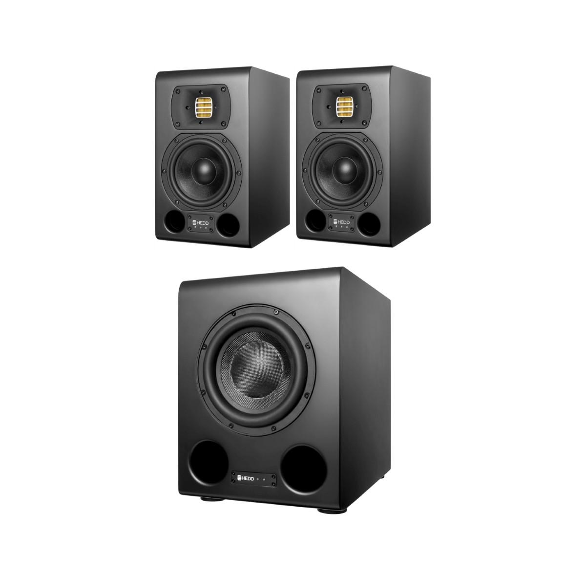 HEDD Audio Type 05 MK2 Black 2 1 Set mit Bass 08