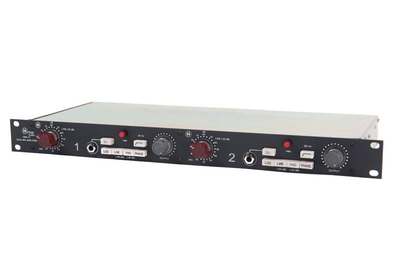 Heritage Audio DMA73 Dual Mic Preamp
