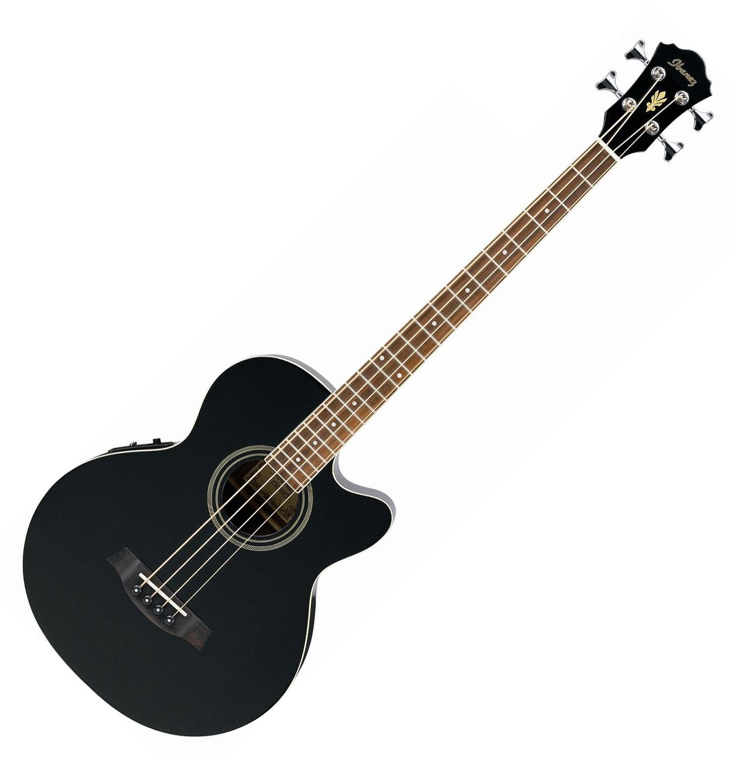 Ibanez AEB8E BK Black High Gloss