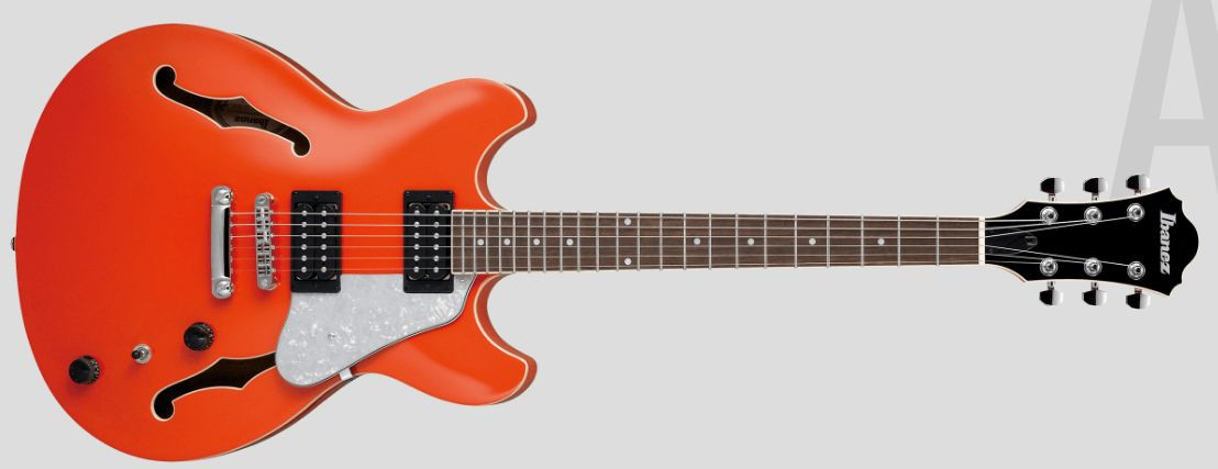 Ibanez AS63 Orange