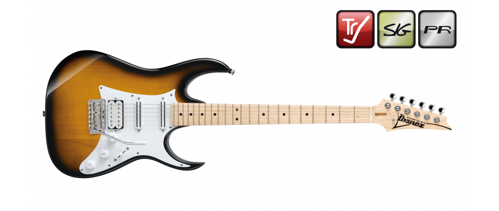 Ibanez AT10P SB Andy Timmons Sunburst