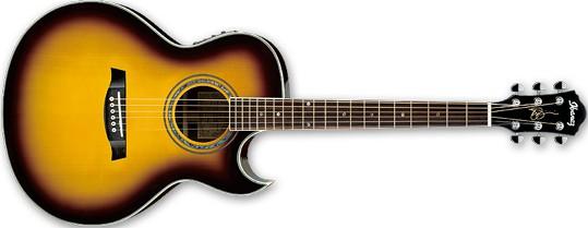 Ibanez JSA5 VB Vintage Burst Gloss Joe Satriani