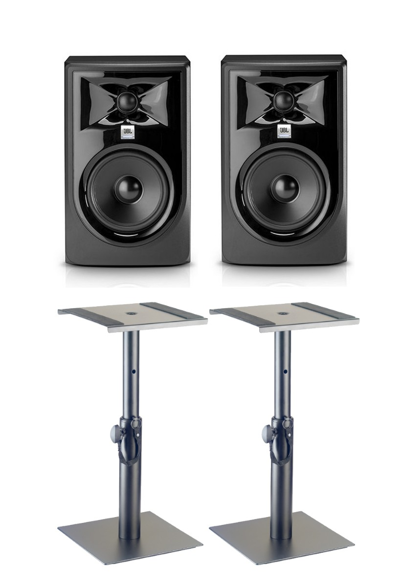 JBL LSR 305P MKII Paar   Monitorst    nder klein