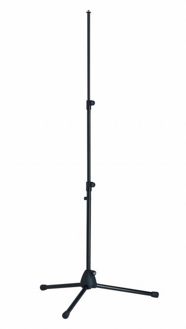 K M 19900 Mikrofonst    nder gerade 2 fach schwarz