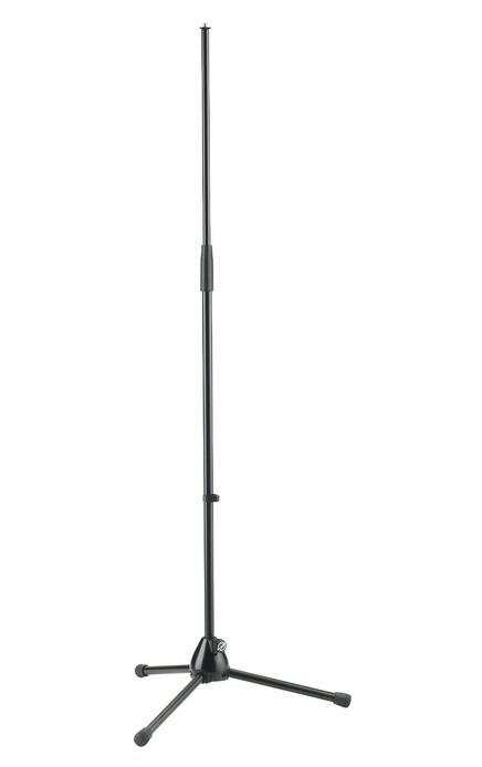 K M 20130 Mikrofonst    nder gerade schwarz