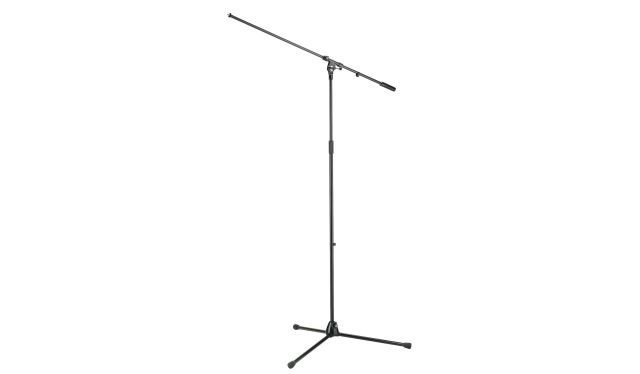 K M 21021 Overhead Mikrofonst    nder Galgen schwarz