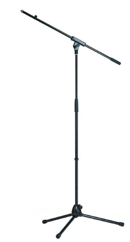 K M 21070 Mikrofonst    nder Galgen schwarz