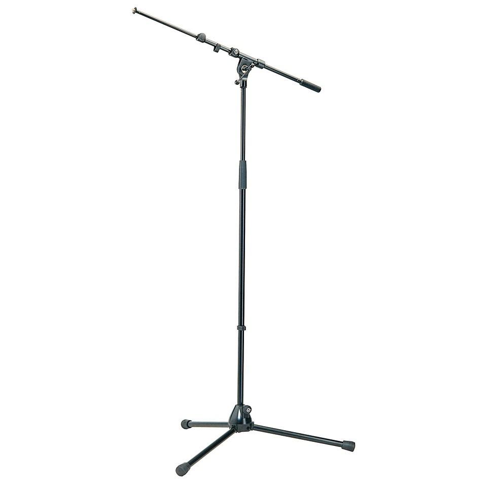 K M 21090 Mikrofonst    nder Galgen schwarz
