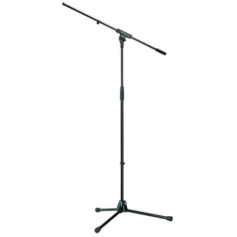 K M 210 6 Mikrofonst    nder Galgen schwarz