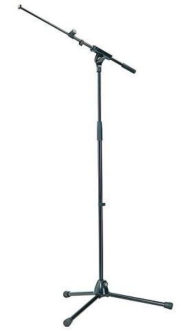 K M 210 8 Mikrofonst    nder Galgen schwarz