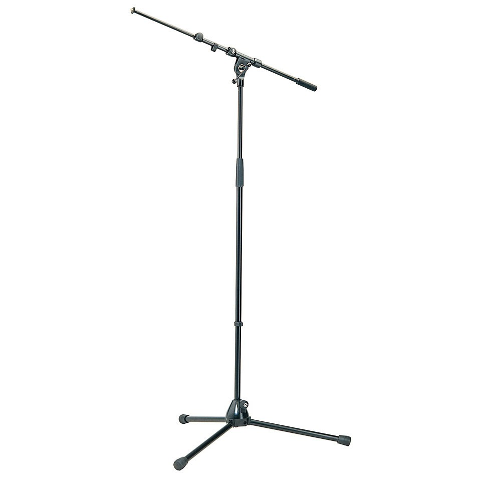 K M 210 9 Mikrofonst    nder Galgen schwarz