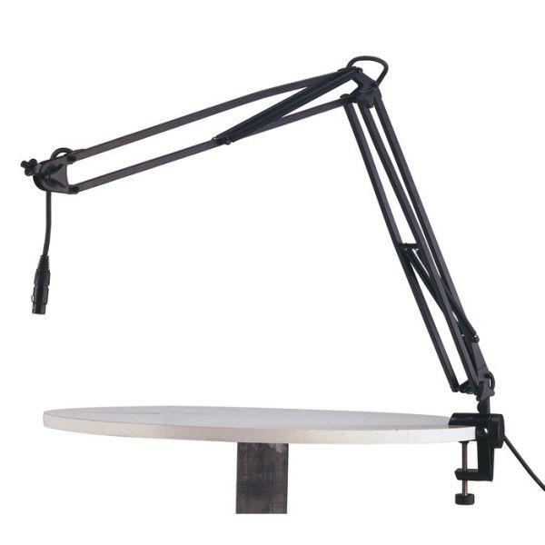 K M 23850 Mikrofonarm schwarz