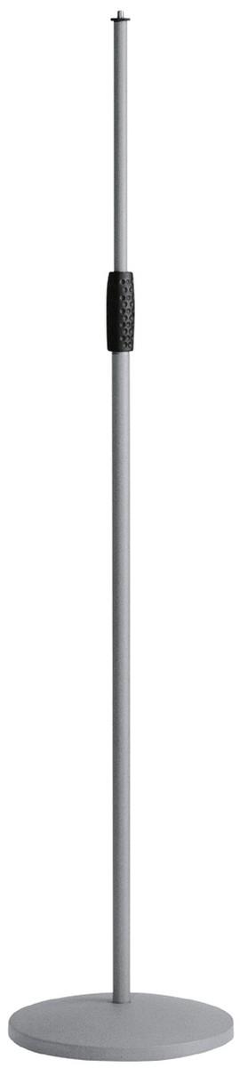 K M 26010 Mikrofonst    nder Rundsockel basaltgrau
