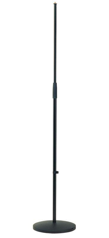 K M 26010 Mikrofonst    nder Rundsockel schwarz