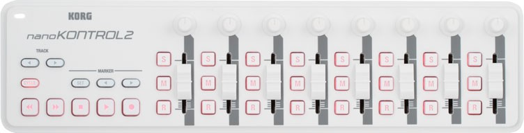 Korg NanoKontrol 2 White