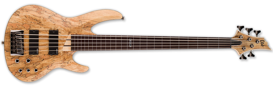LTD B 205SM Natural Satin Fretless