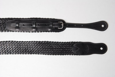 LaFerro LG11 Smooth Black Leather Strap L