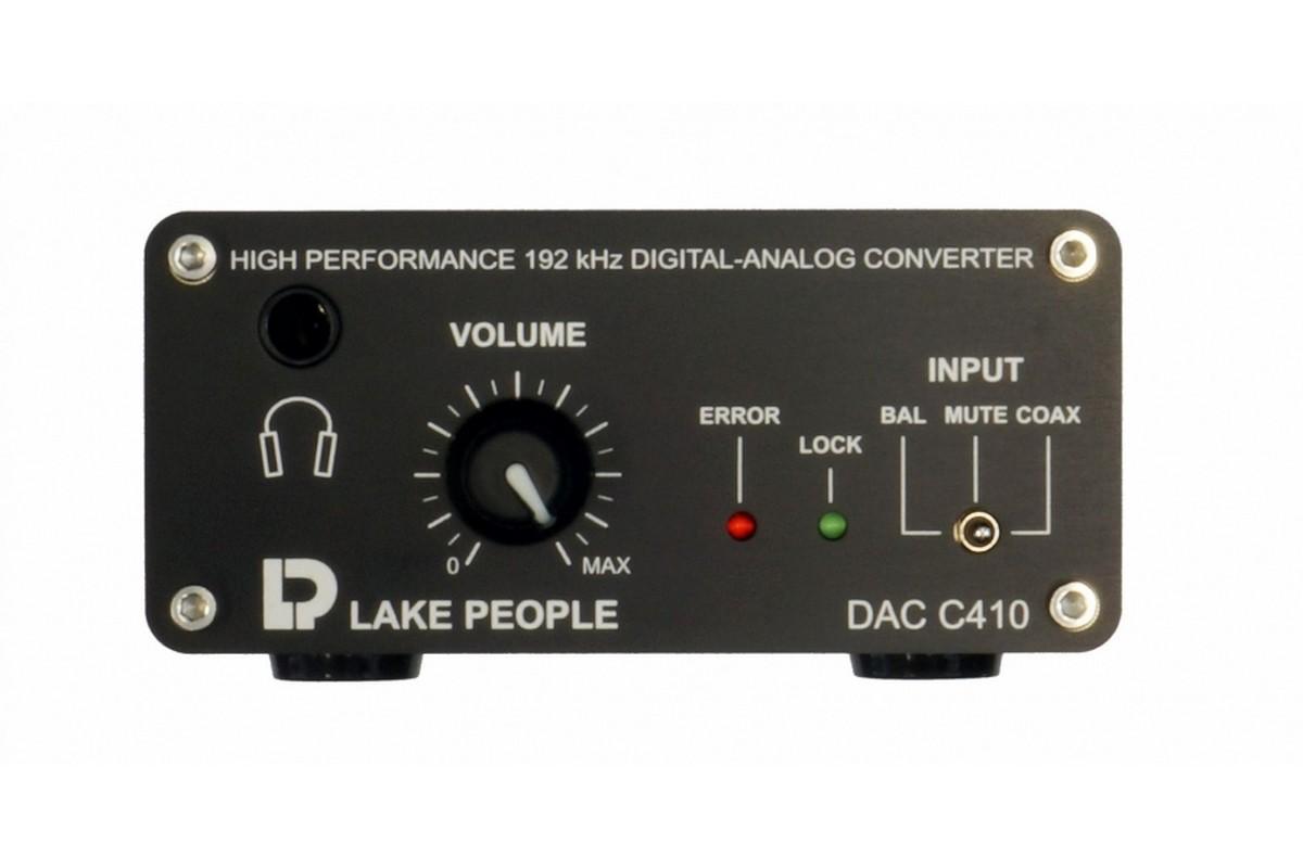 Lake People C410 H DAC DA Wandler m  Headphone Pre