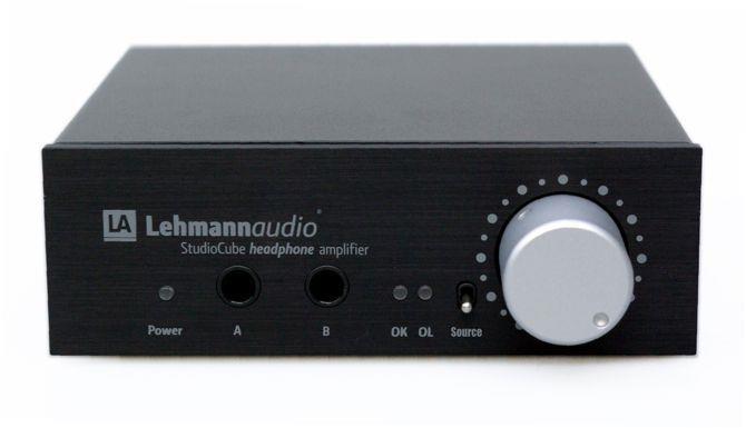Lehmann Audio Studio Cube Schwarz