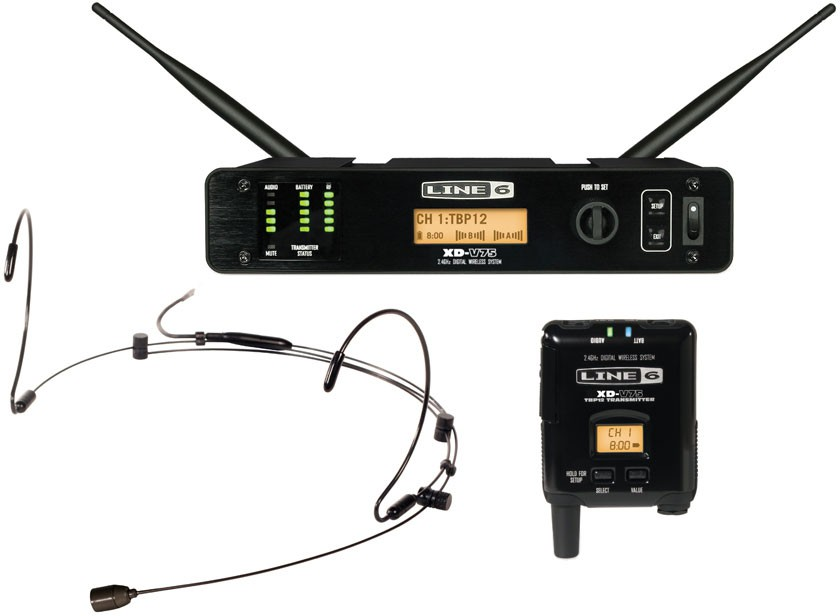 Line 6 XD V75 HS Headset System Black