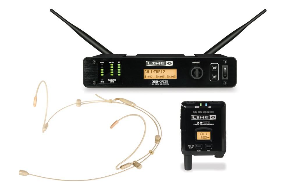 Line 6 XD V75 HS Headset System Tan
