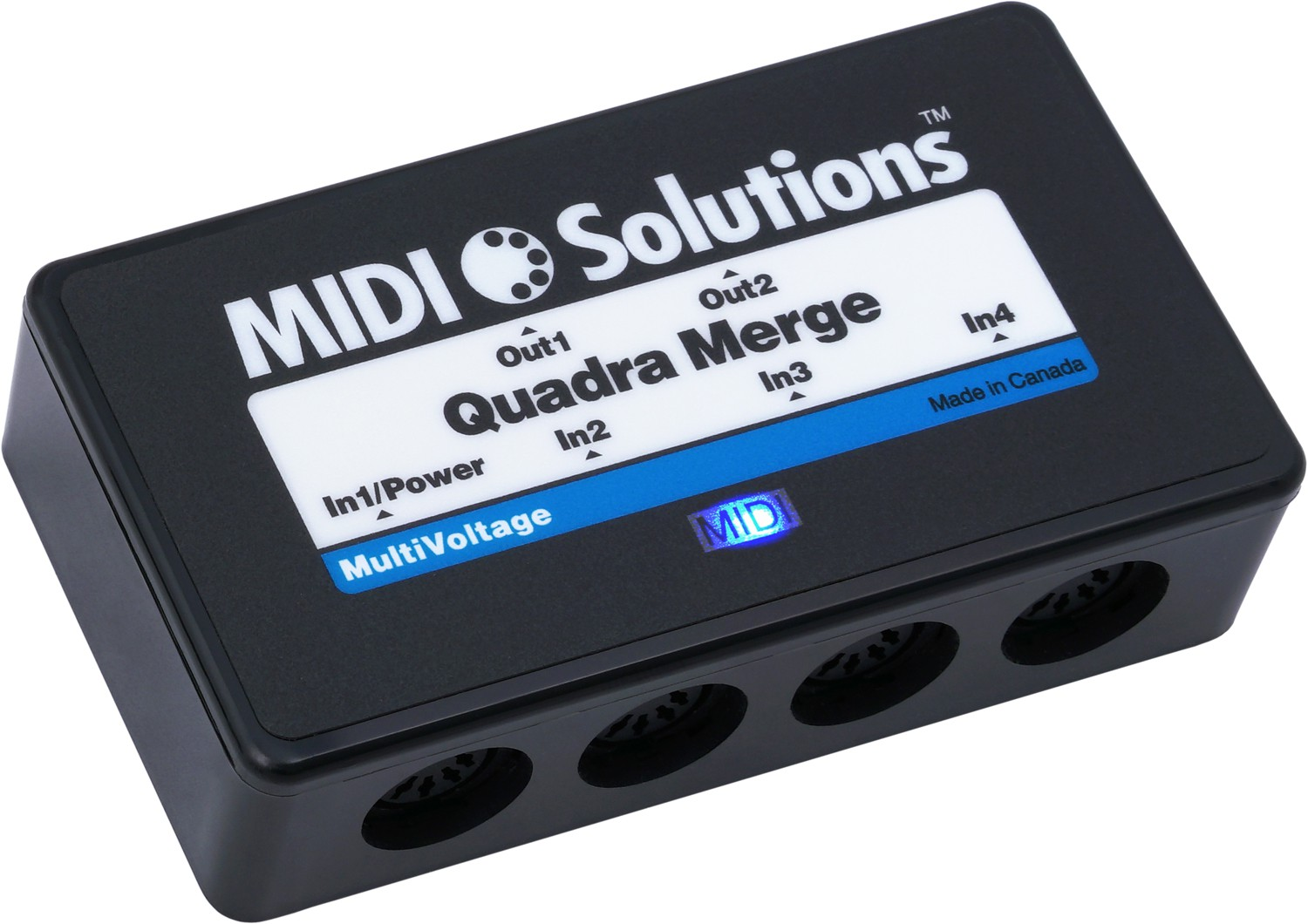 MIDI Solutions Quadra Merger